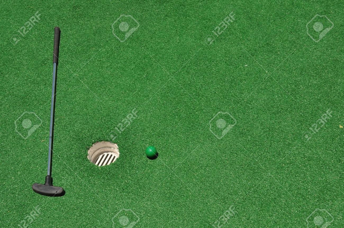 Mini Golf Background - 21941299