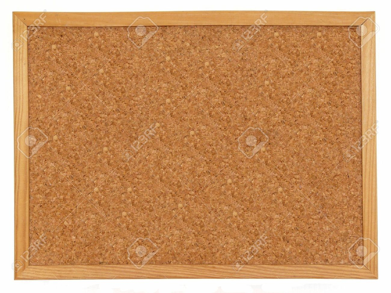 Empty cork board isolated over white background Stock Photo - 5185752