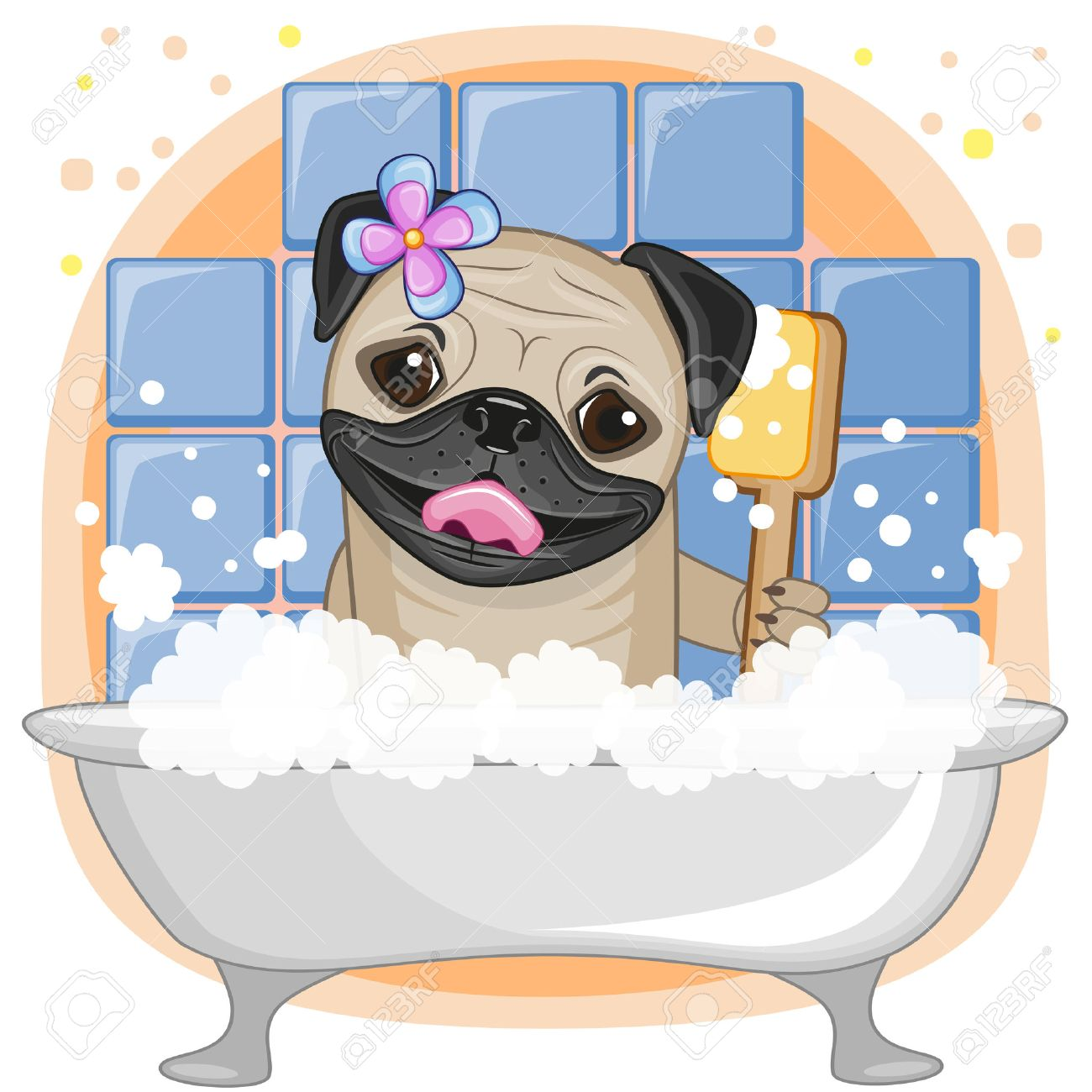 pug cartoon stock photos royalty free pug cartoon images and pictures