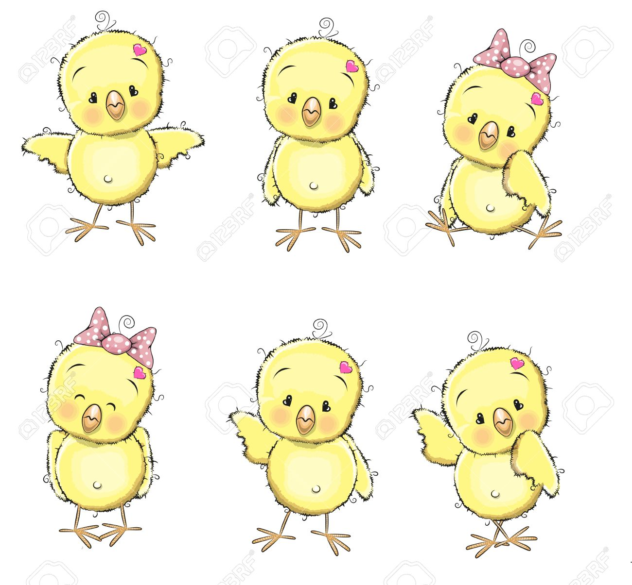 4,747 Baby Chick Stock Vector Illustration And Royalty Free Baby ...