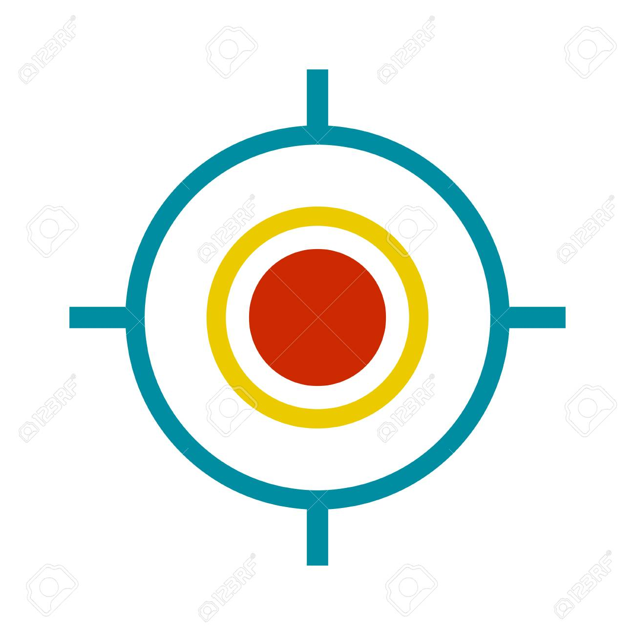 target aim icon royalty free cliparts vectors and stock illustration image 100301190 123rf com