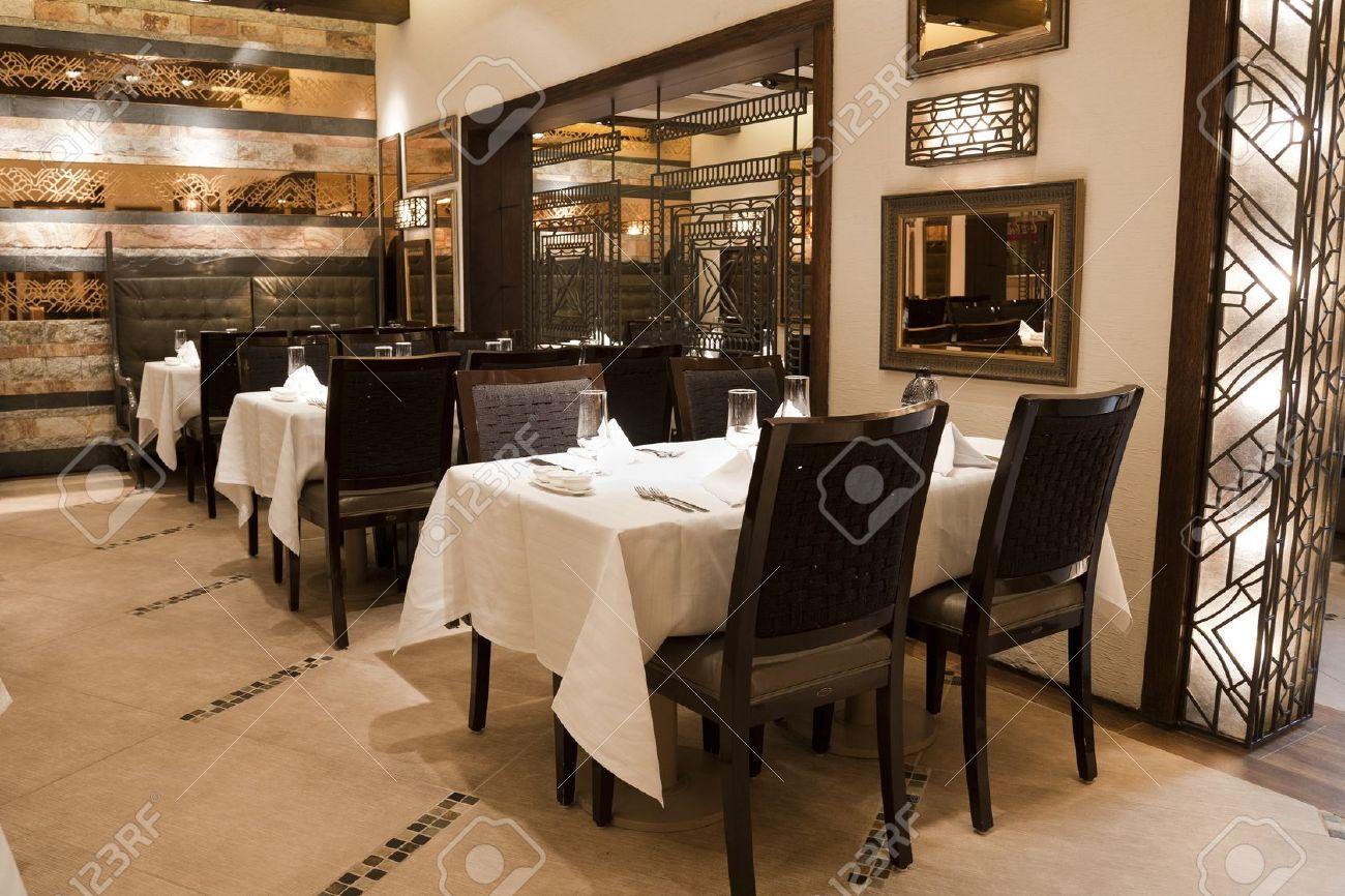 Restaurant Interieur Design.Interior Of A Modern Design Restaurant