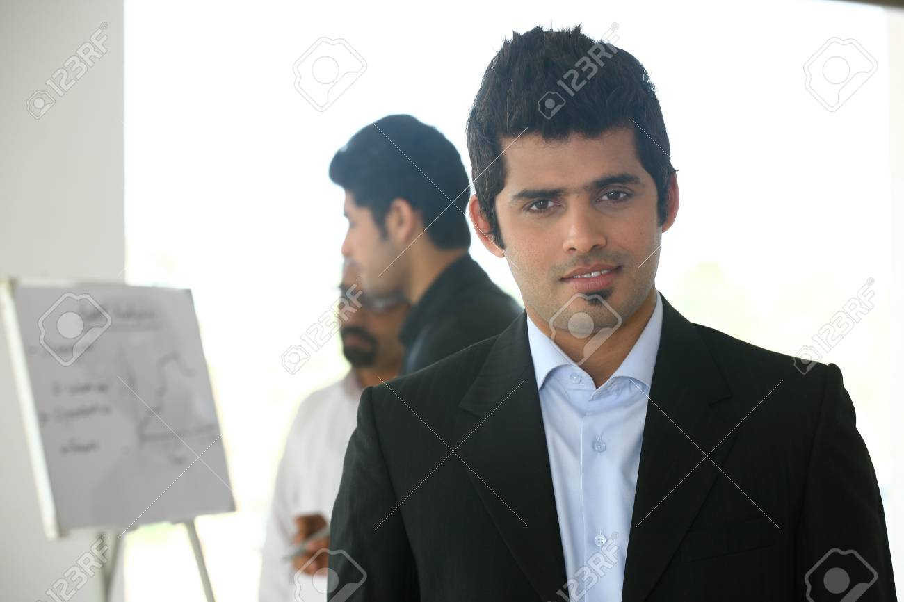 small group of businessmen in meeting Stock Photo - 14863250
