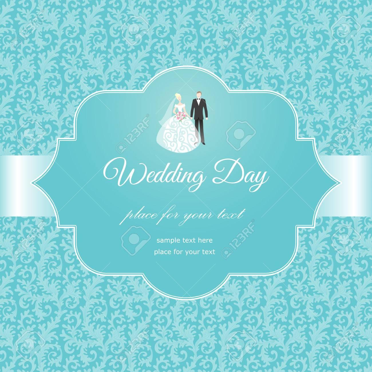 Invitation label on floral background elegant card for your invitation label on floral background elegant card for your wedding stock vector 31083486 stopboris Images