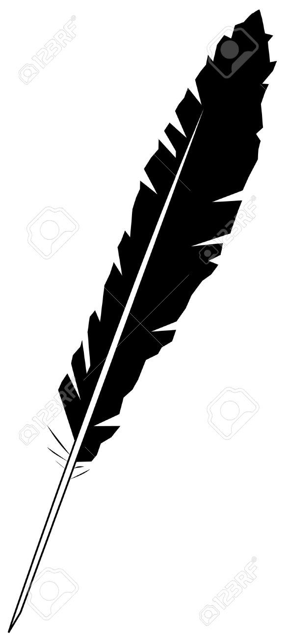 black feather Stock Vector - 7443998