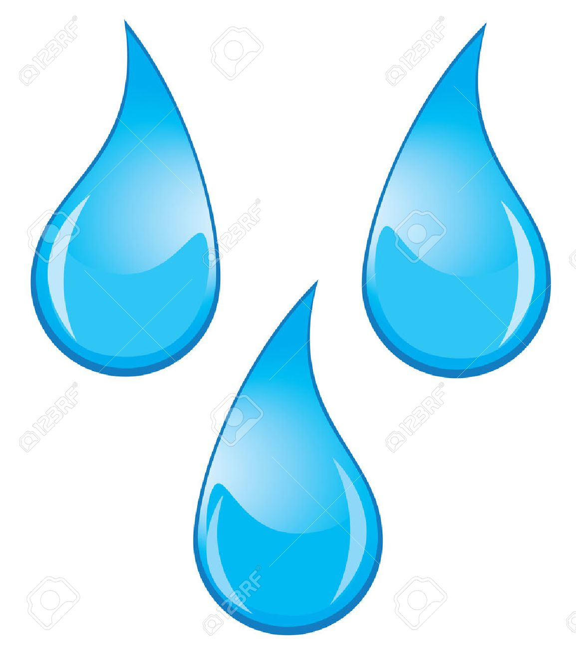 vector water drops royalty free cliparts vectors and stock rh 123rf com free vector water drop download vector water drops in adobe illustrator