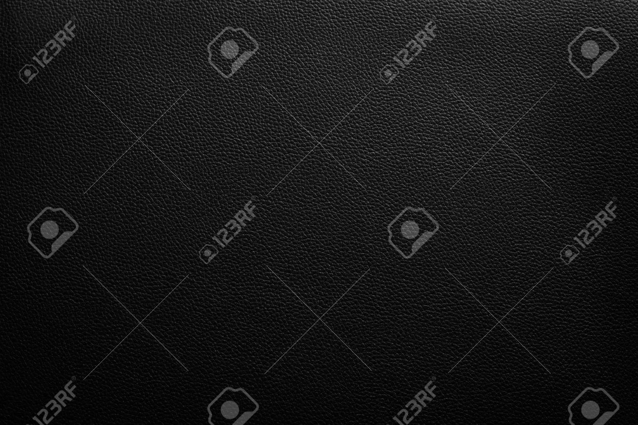 Luxury black leather texture background - 54490615