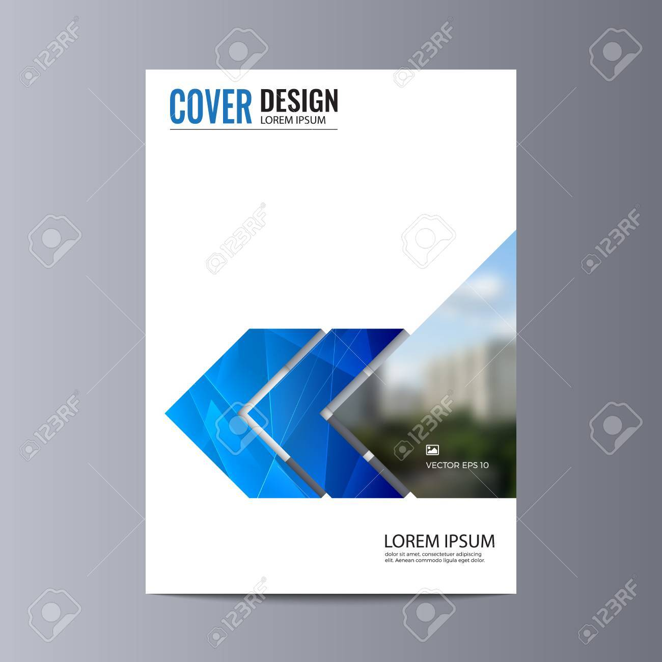 Simple Abstract flyer design background  Brochure template