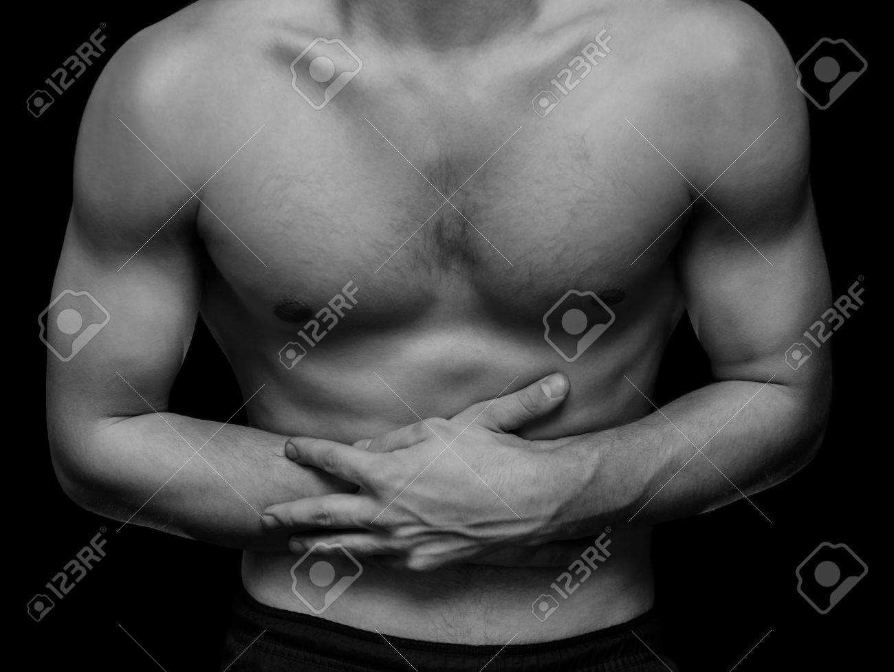 Bauch seite schmerzen mann rechte Brustschmerzen rechts