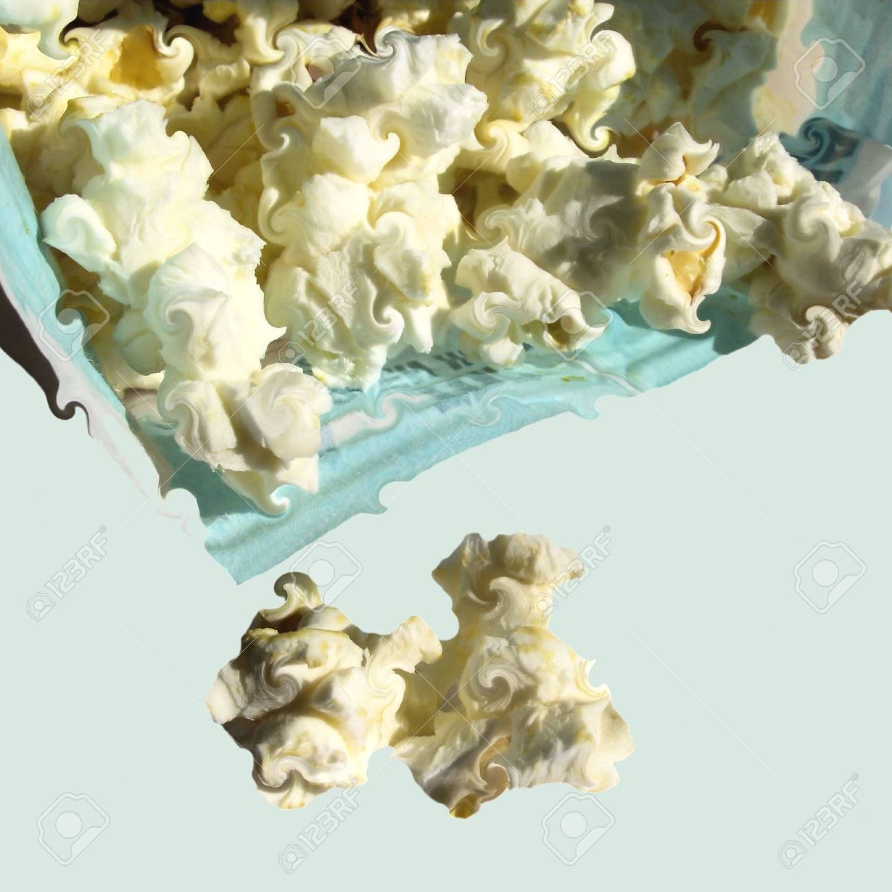 Fresh Popcorn Abstract Stock Photo - 8038695