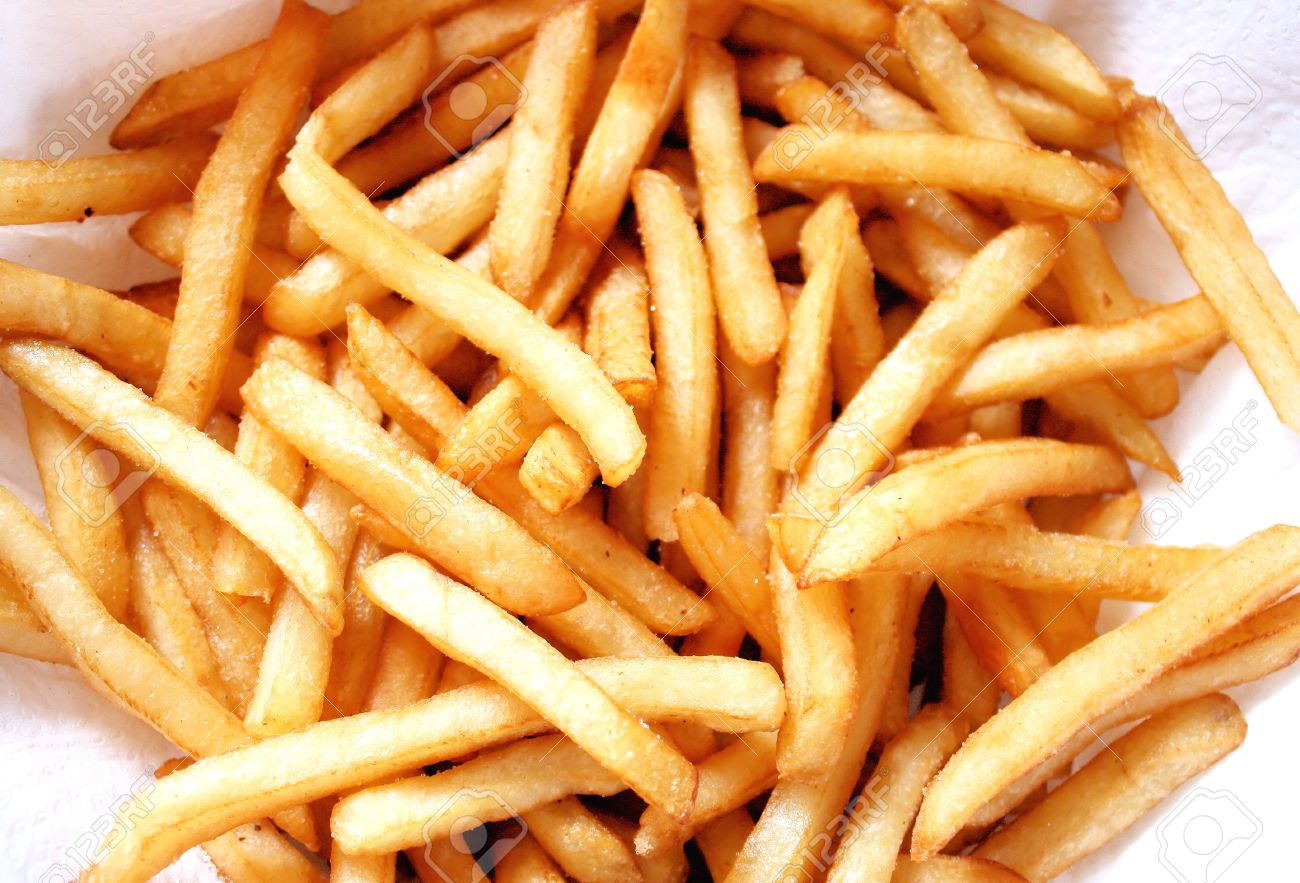 Deep Fried French Fries Stock Photo - 9465659