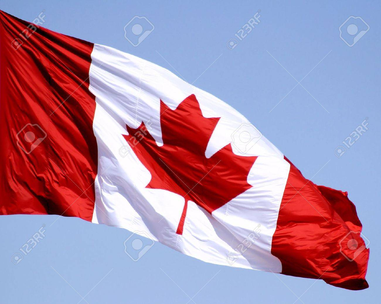 Canadian Flag Stock Photo - 10051415
