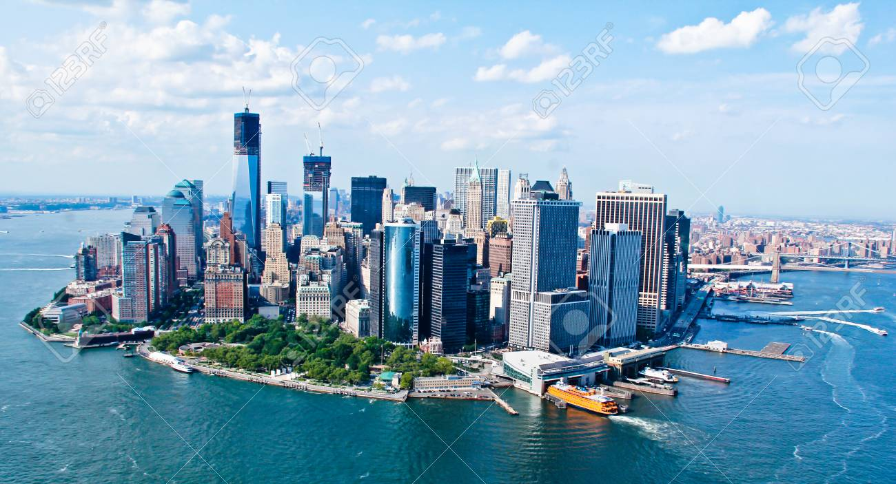 New York City Sky View Stock Photo - 22922012