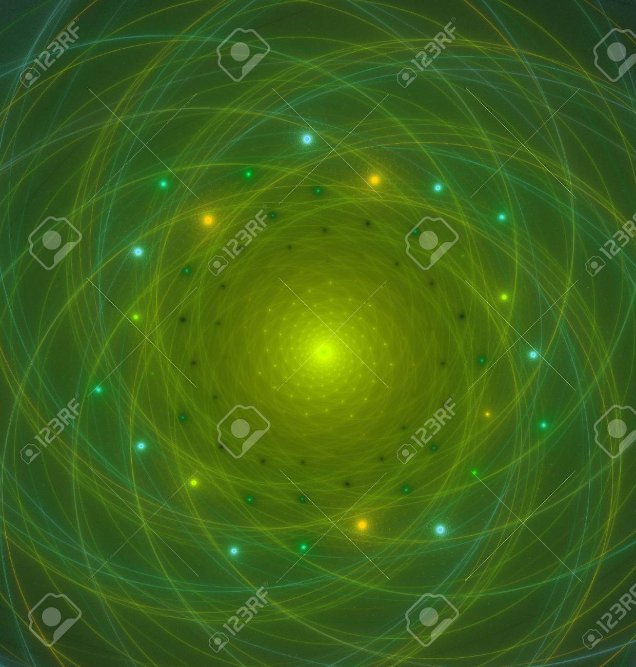 Abstract fractal flame background image Stock Photo - 6645270