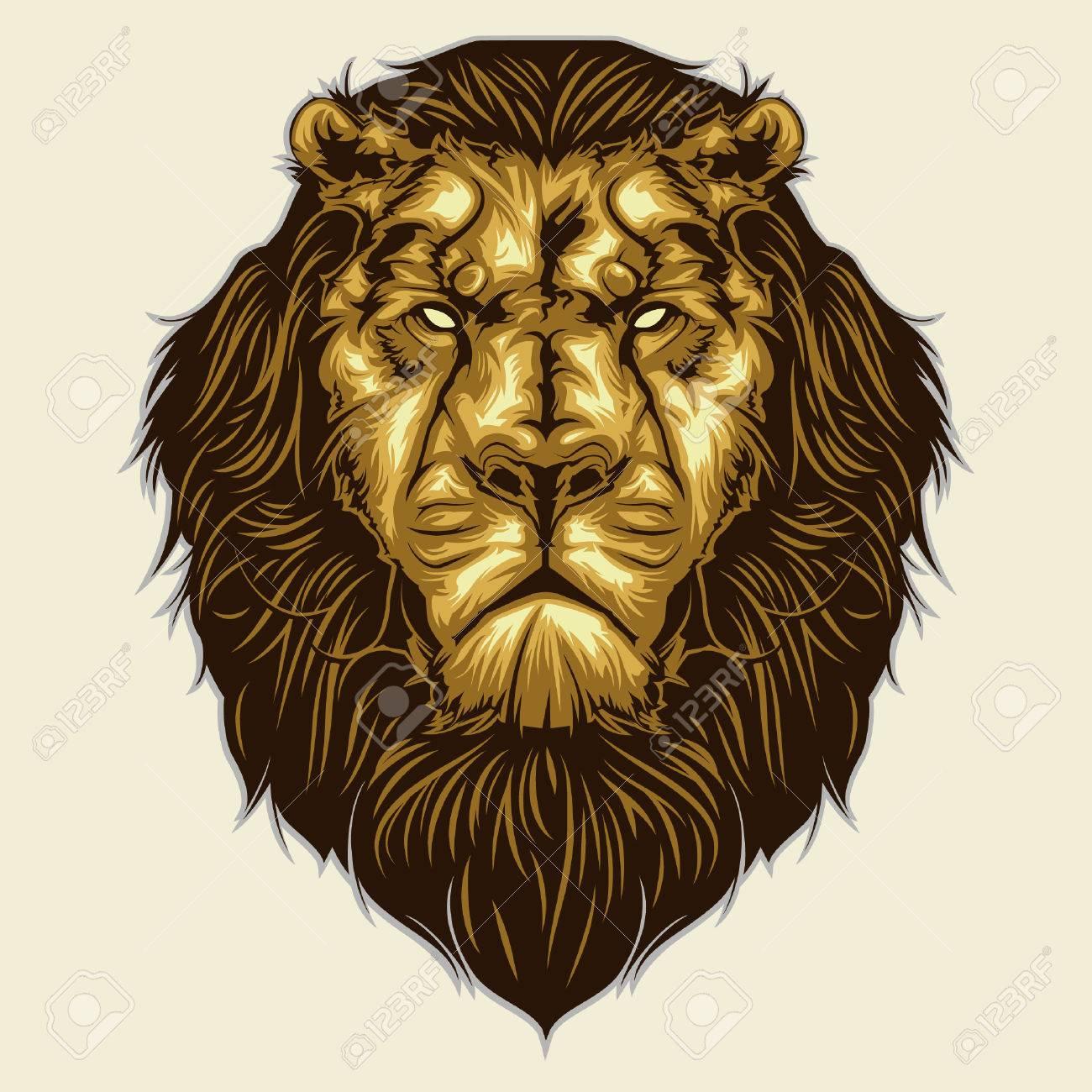 lion head mascot - 44826610