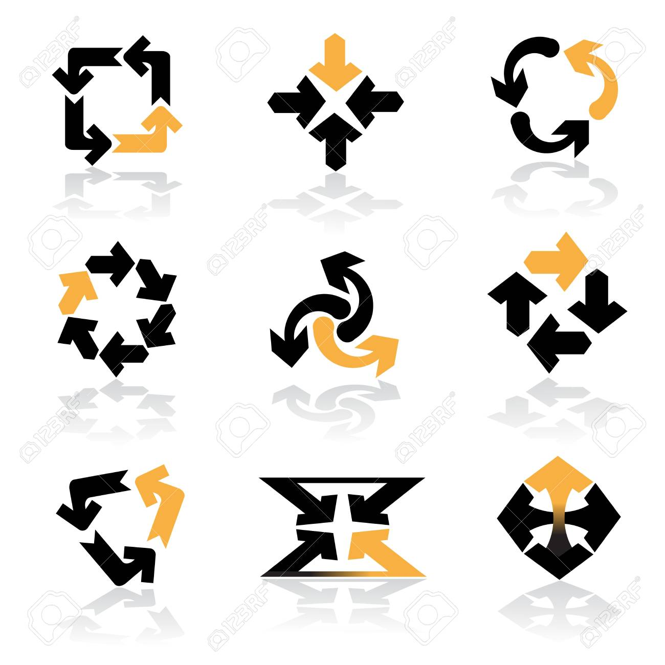 Vector collection of darts Stock Vector - 11446383