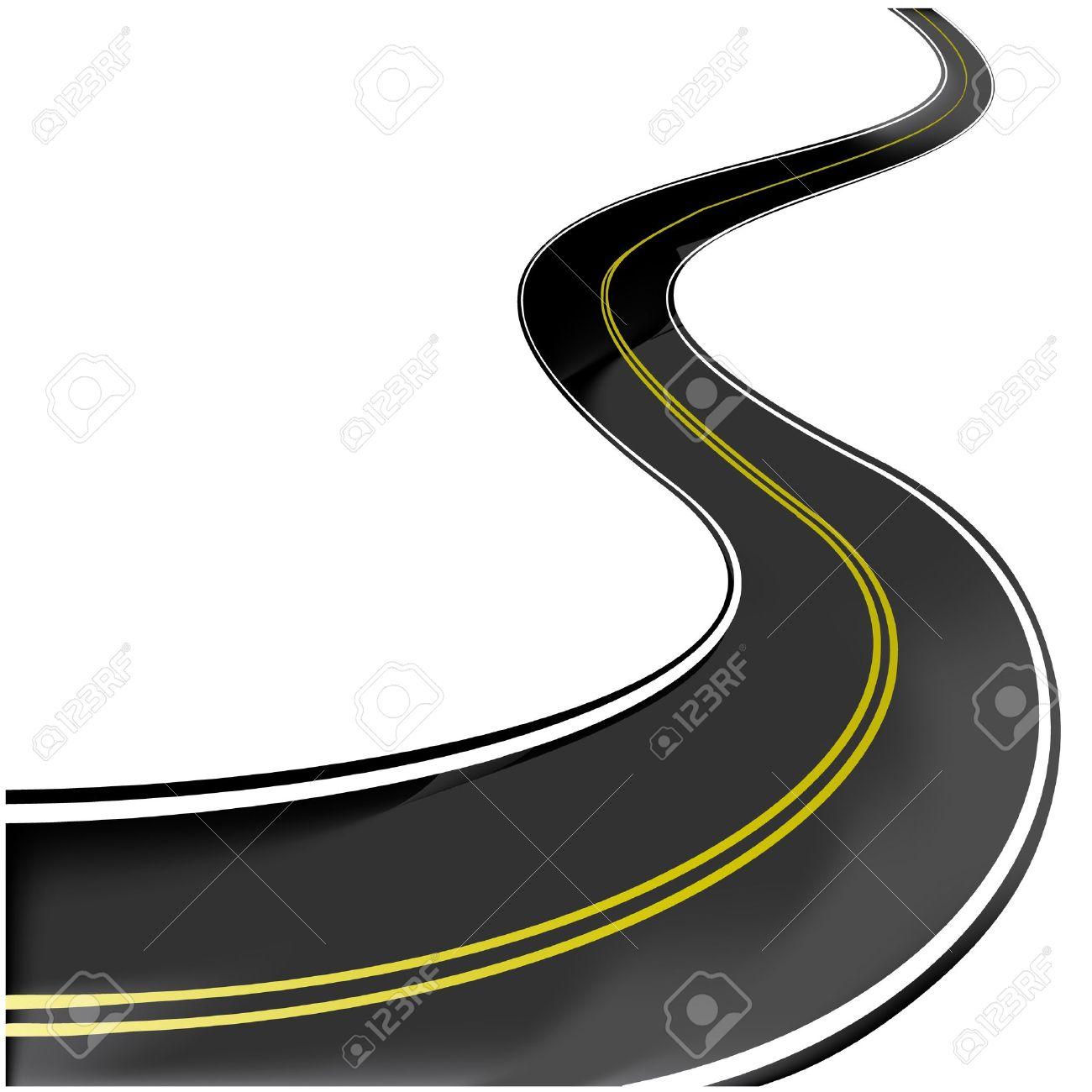 vector winding road royalty free cliparts vectors and stock rh 123rf com road vector free download road vector free download