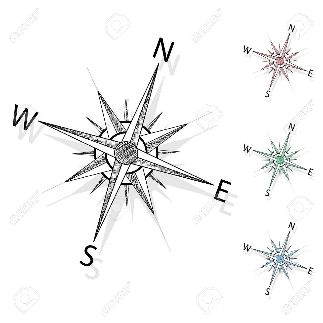 Vector compass Stock Vector - 11446038