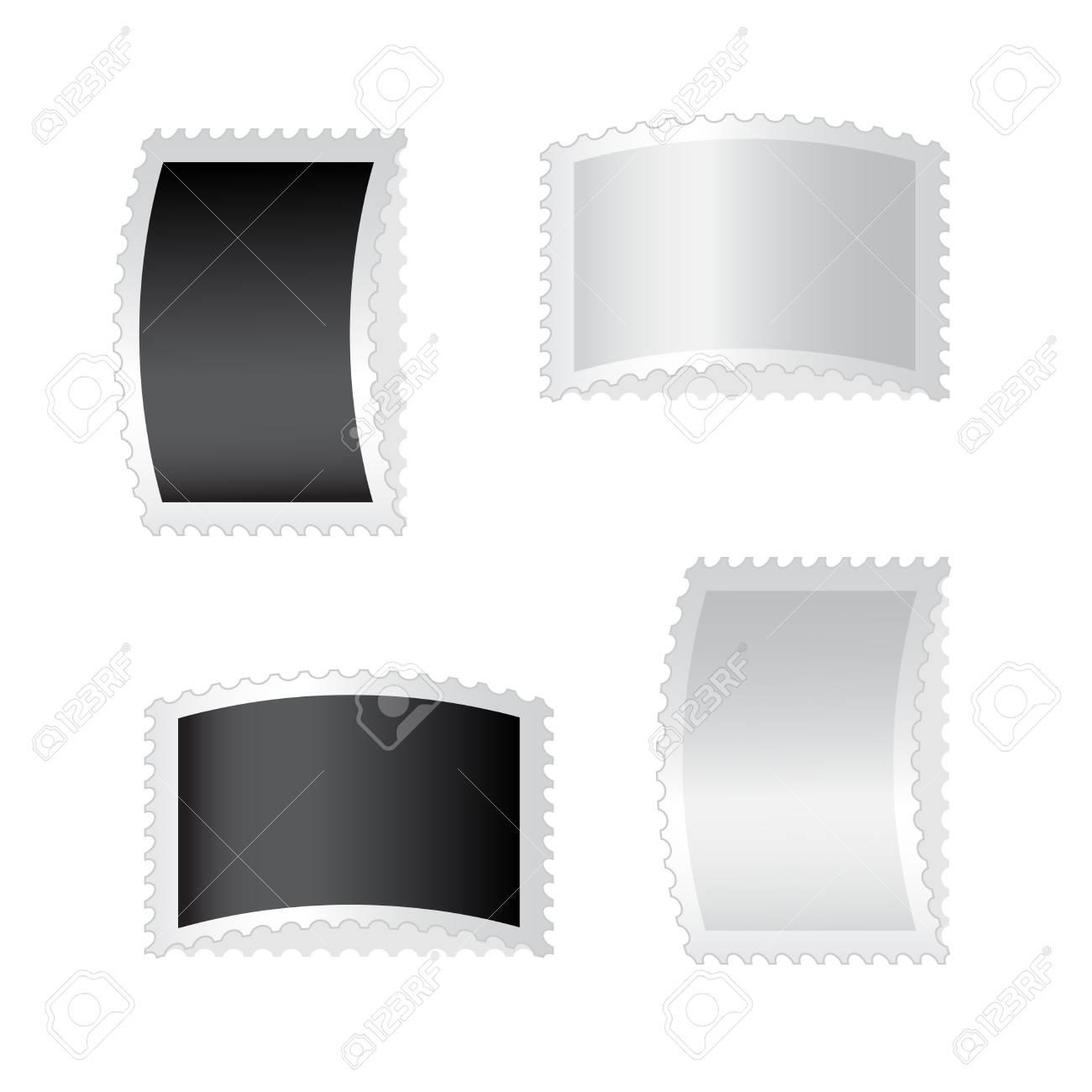 Vector deflected stamps Stock Vector - 11446381