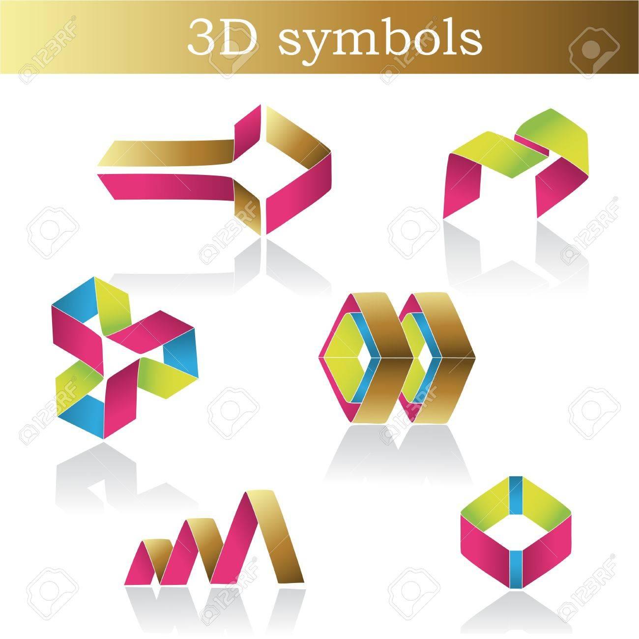 Vector color symbols Stock Vector - 11469766