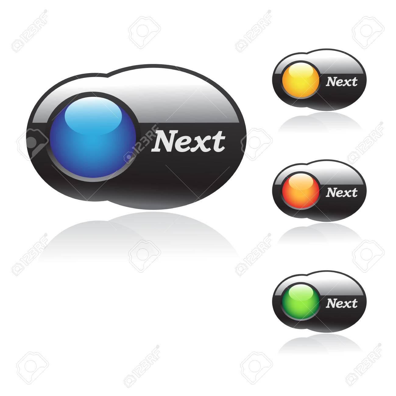 Vector web buttons Stock Vector - 11470119