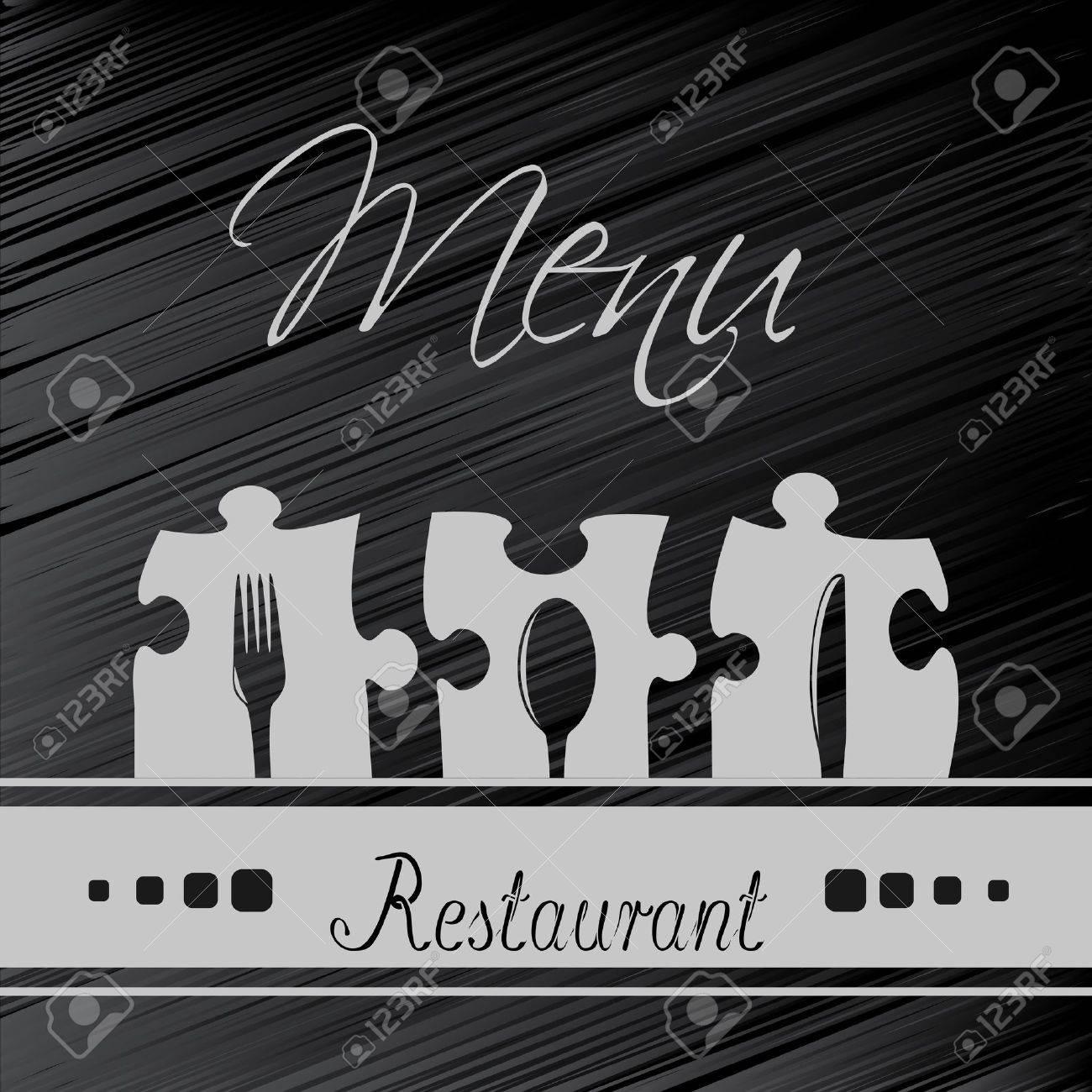 Vector restaurant menu design - template brochure Stock Vector - 13659013