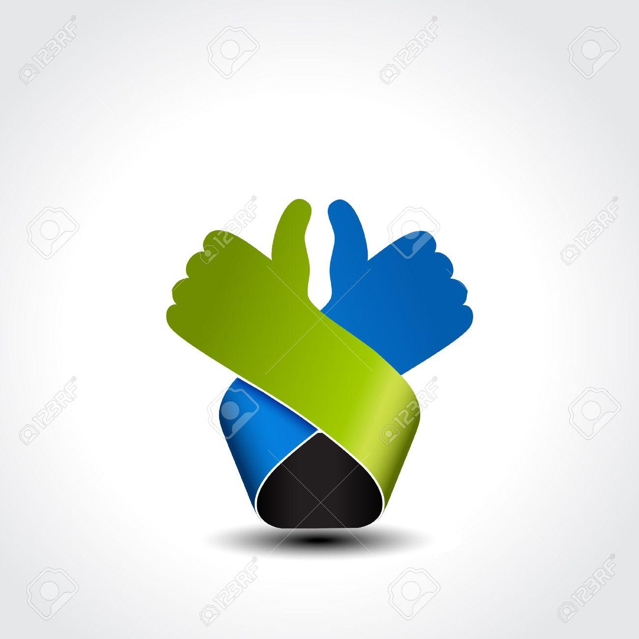 best choice symbol - hand gesture - illustration - 19506232