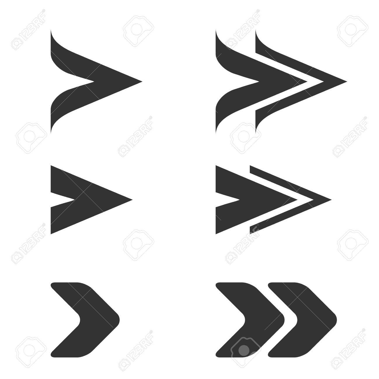 vector black arrow symbols simple arrow buttons pointer on rh 123rf com arrow vector image arrow vector icons