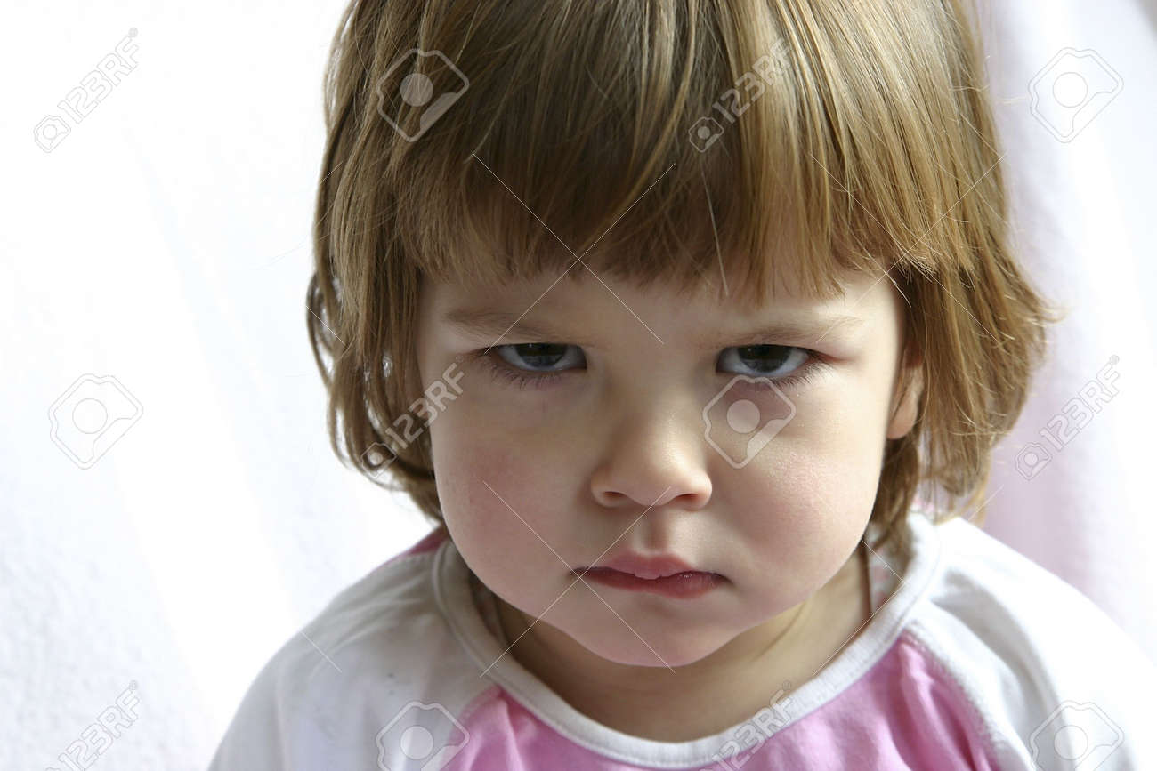 Little cute child, looking naughty. Stock Photo - 720799