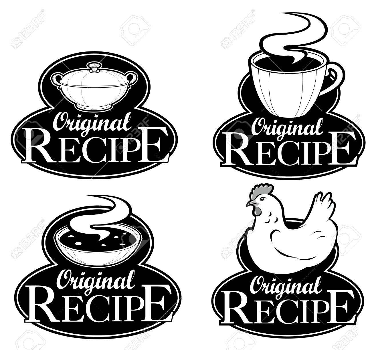 Original Recipe Seals Collection Stock Vector - 9674528