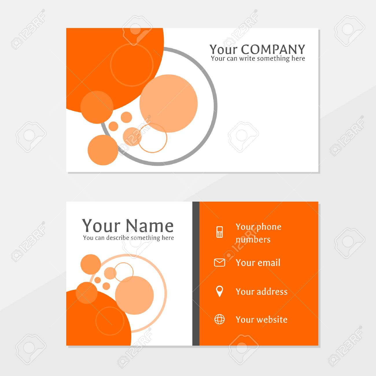 Business card with abstract design royalty free cliparts vetores e banco de imagens business card with abstract design reheart Image collections