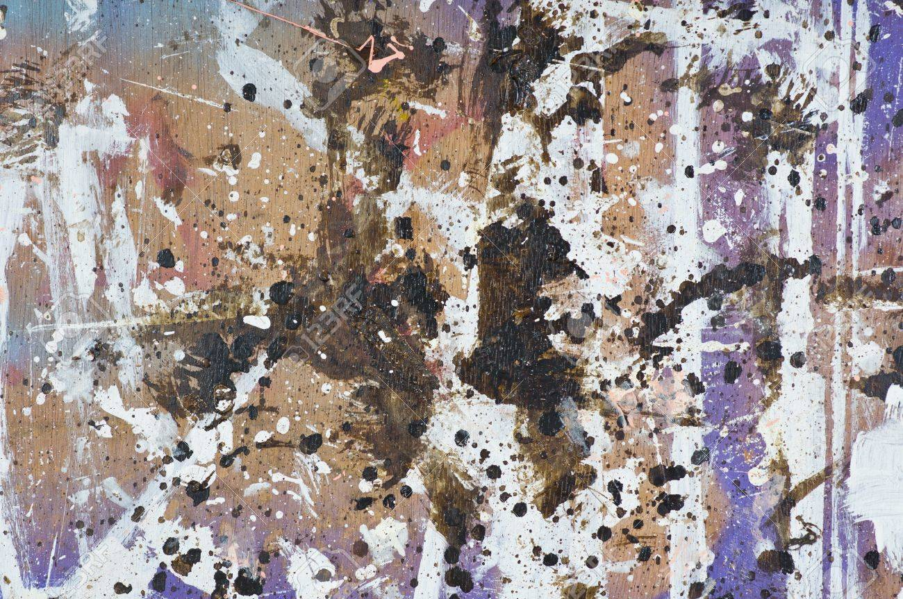 Old plywood with stain of colors Stock Photo - 18587057