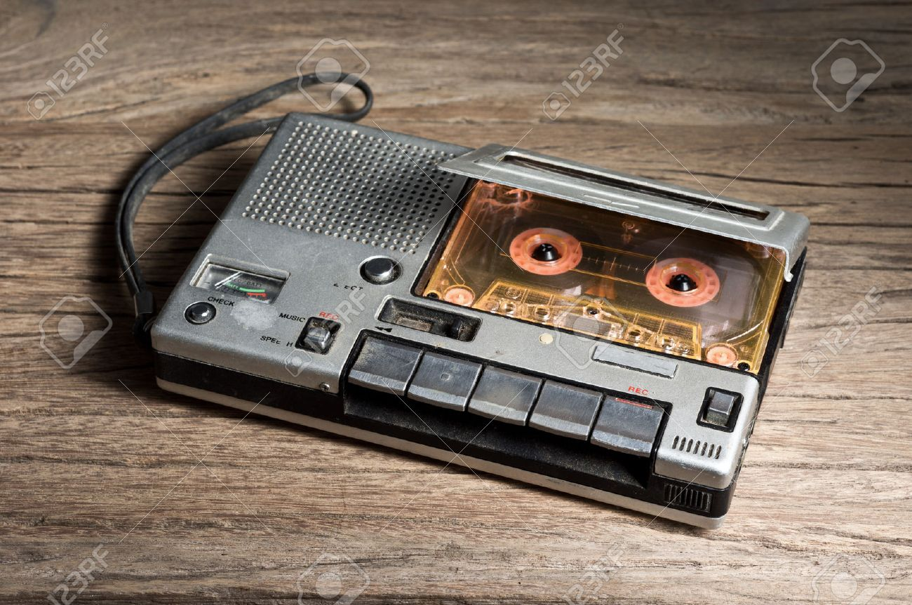 recording cassette player