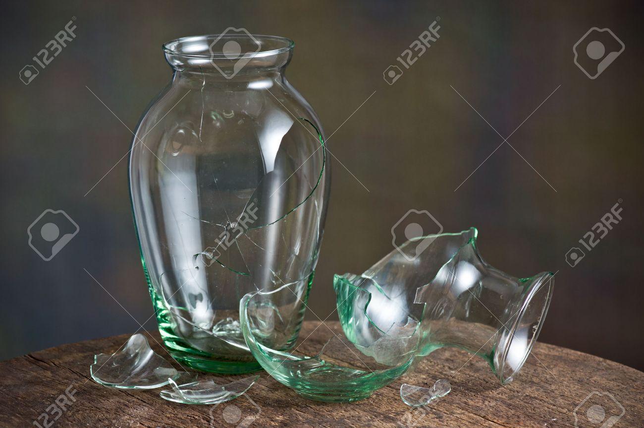 still life photography broken glass vase stock photo 28309949 - Broken Glass Vase