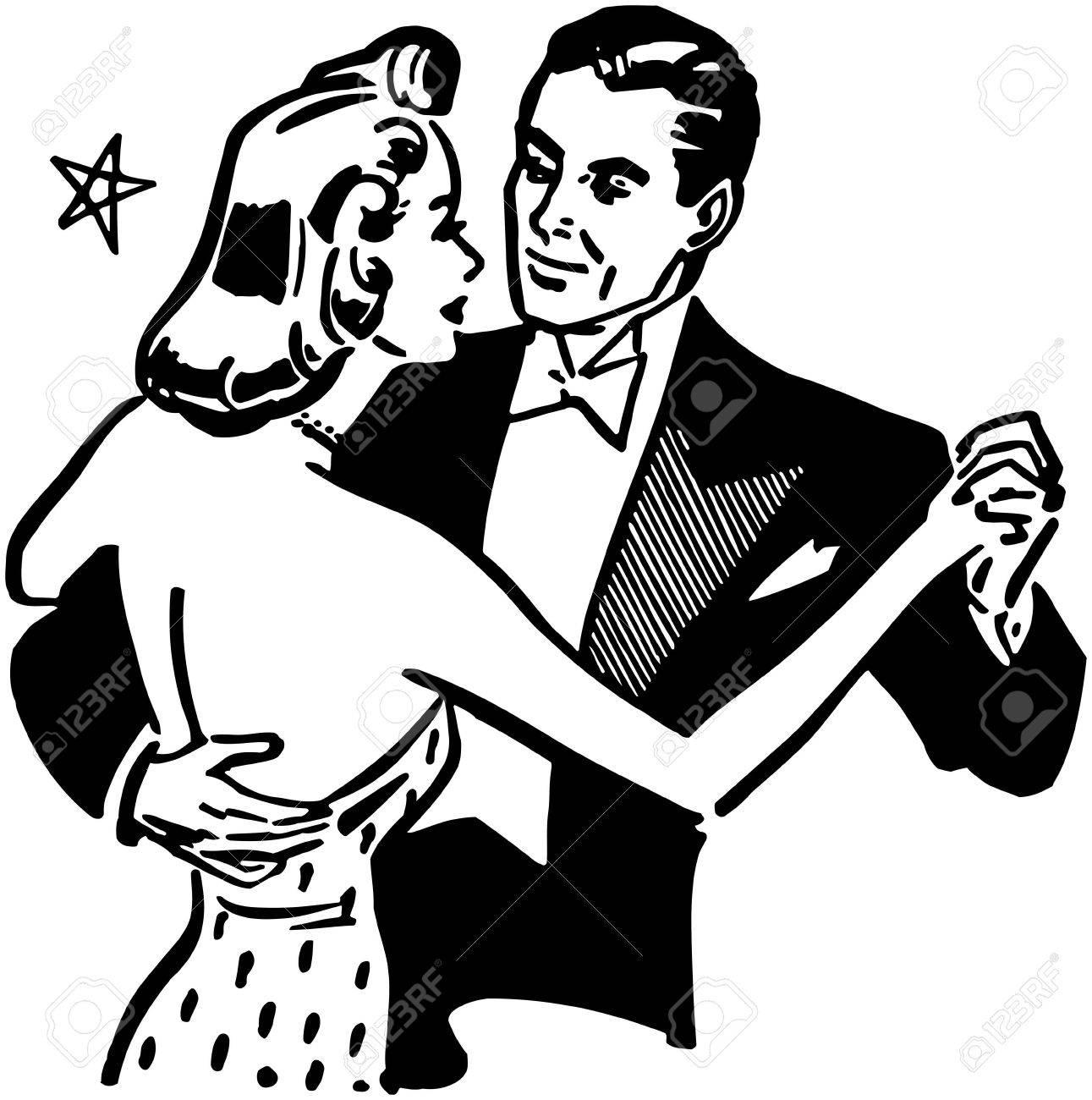 Dance Couple Stock Vector - 28334747