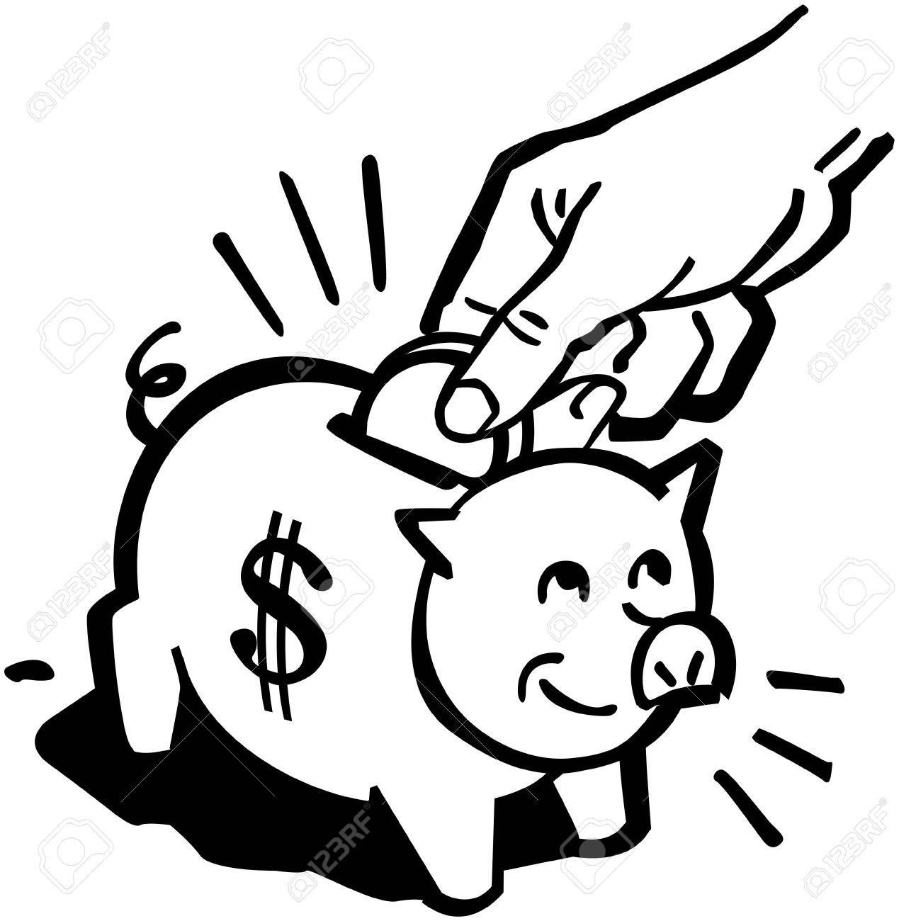 piggy bank royalty free cliparts vectors and stock illustration rh 123rf com piggy bank clipart pink broken piggy bank clipart