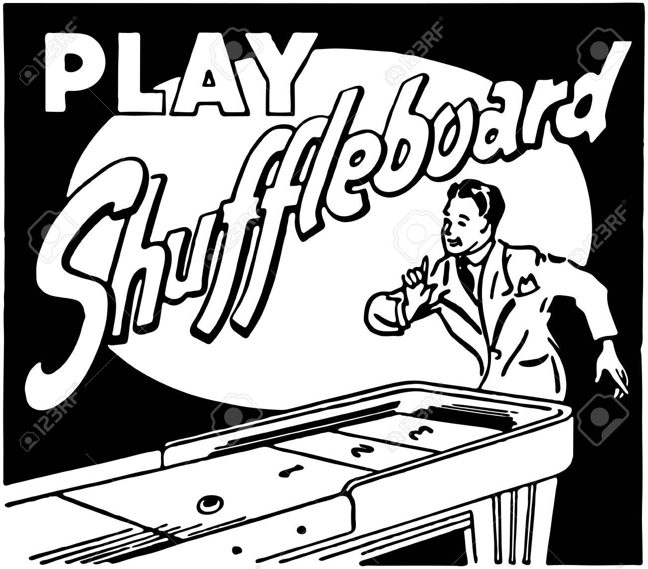 Play Shuffleboard - 28339096