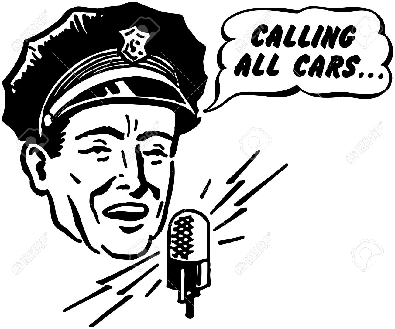 Police Dispatcher Royalty Free Cliparts, Vectors, And Stock ...