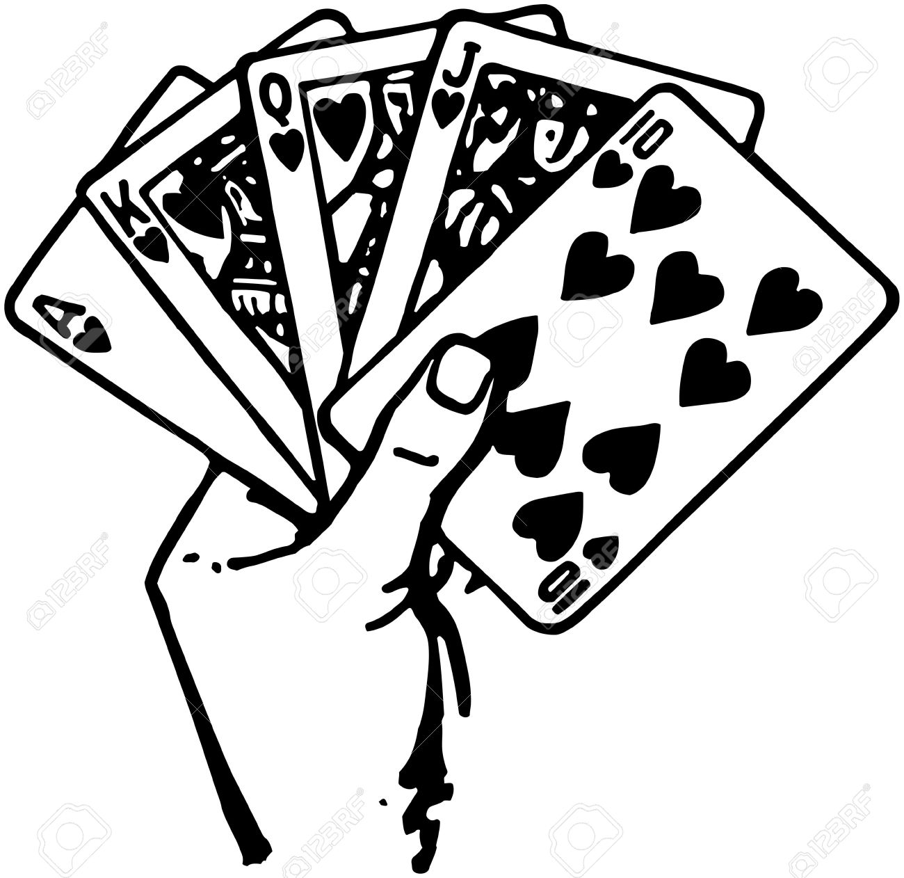 Image result for hand of cards