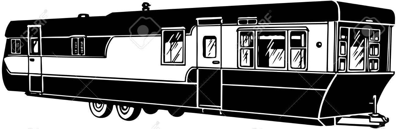 mobile home 2 royalty free cliparts vectors and stock illustration rh 123rf com mobile home park clipart mobil home clipart