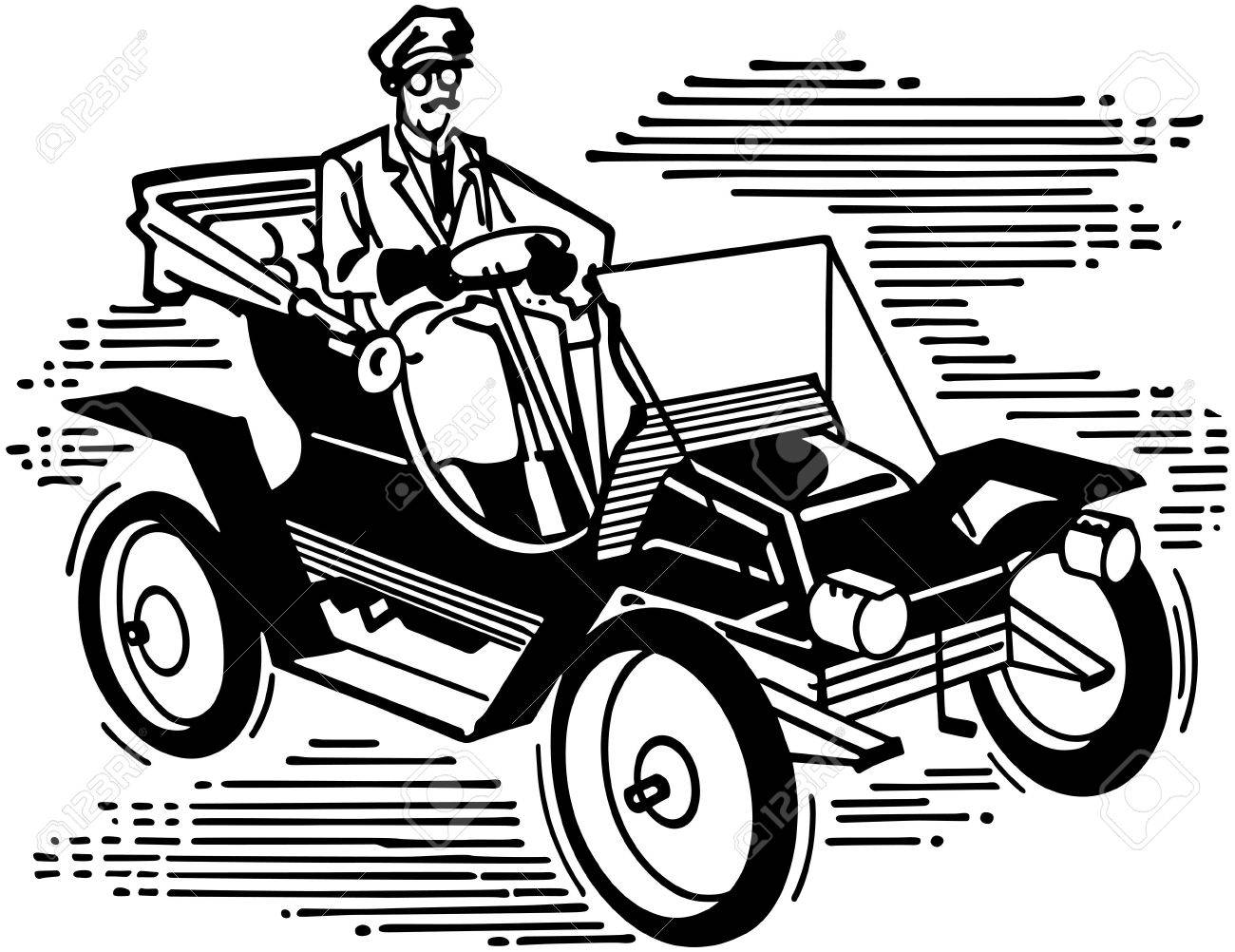 Old Fashioned Car Royalty Free Cliparts, Vectors, And Stock ...