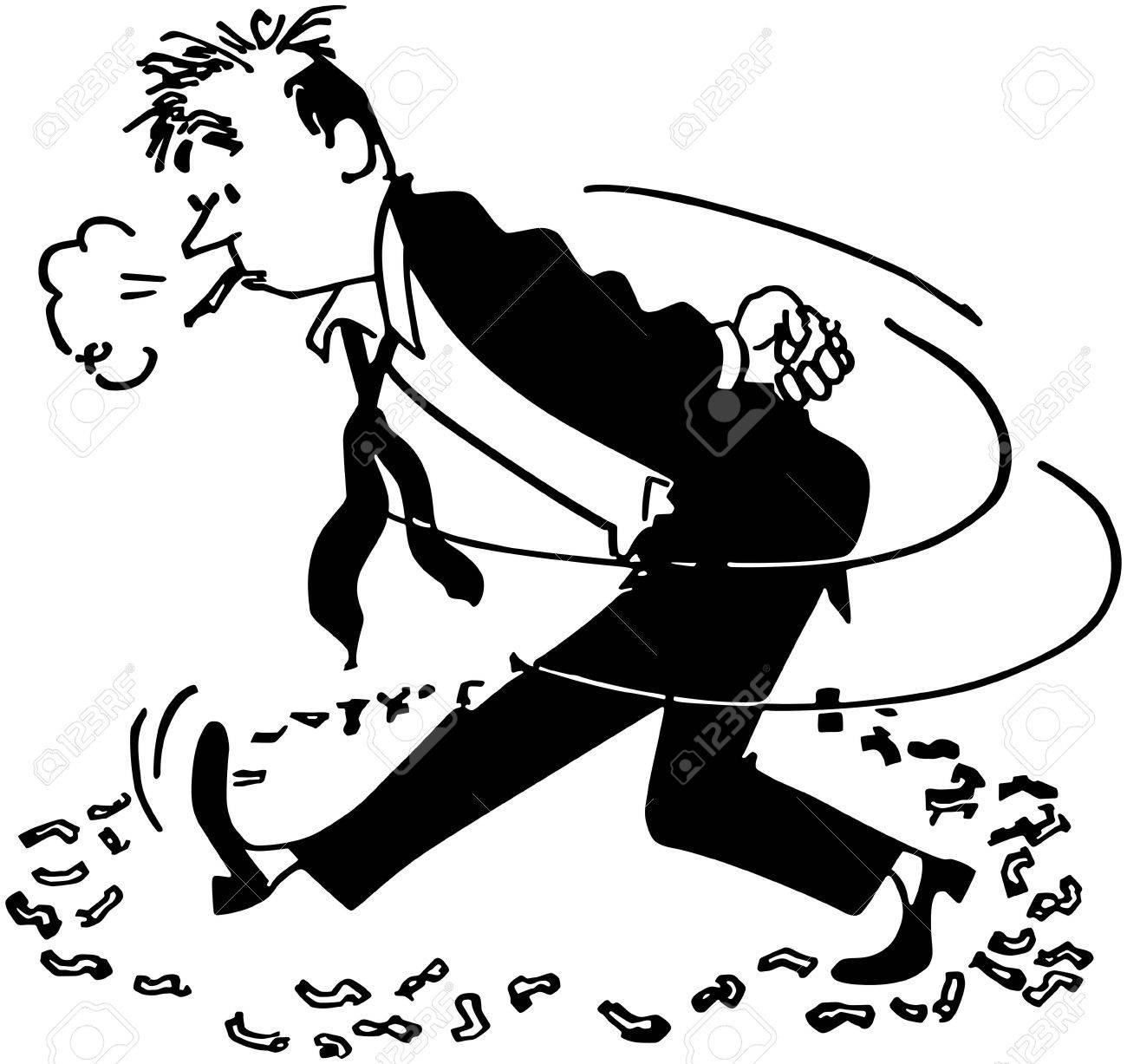pacing smoker royalty free cliparts vectors and stock illustration