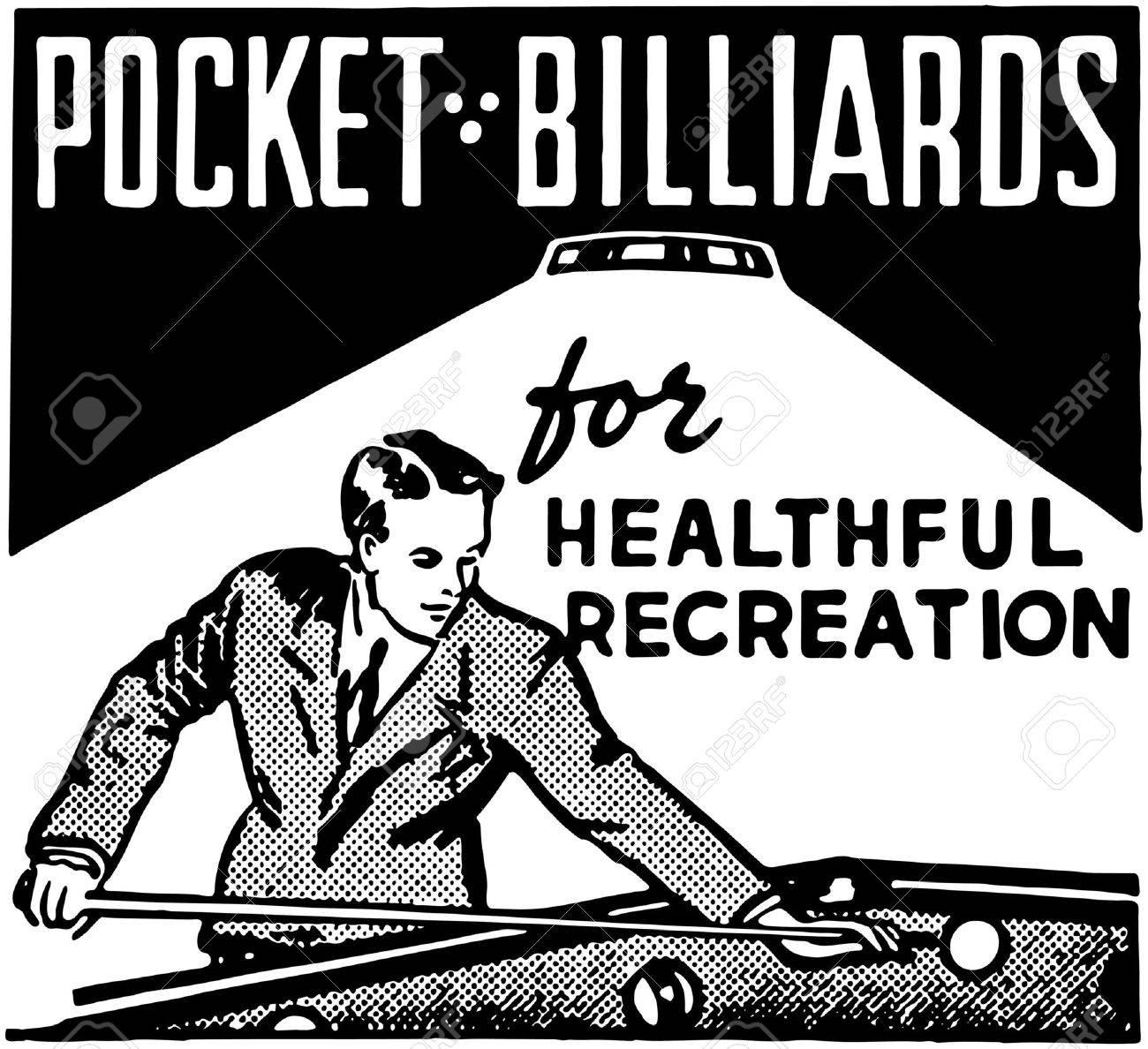 Pocket Billiards Banque d'images - 28343633