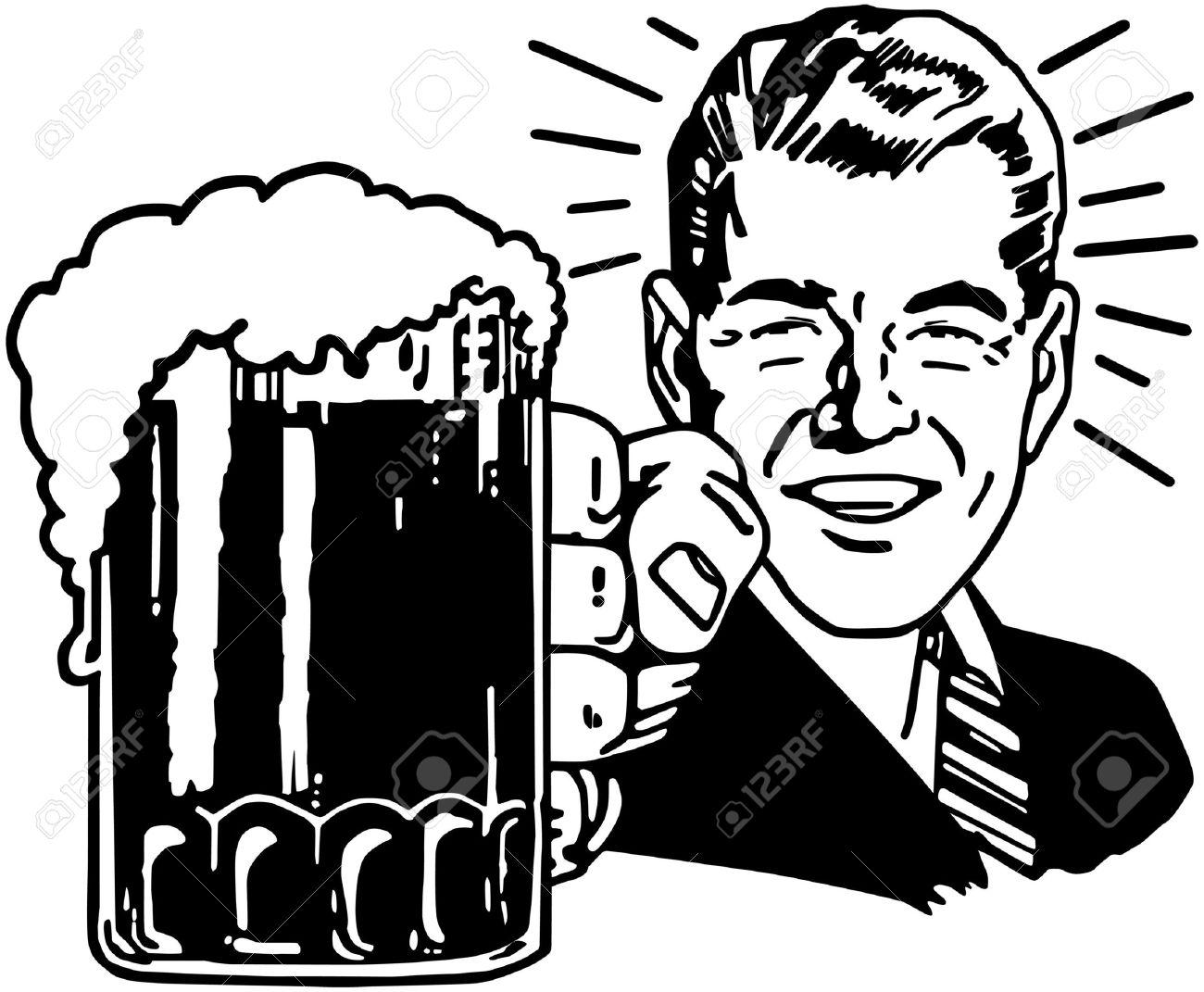 Retro Beer Guy - 28344350