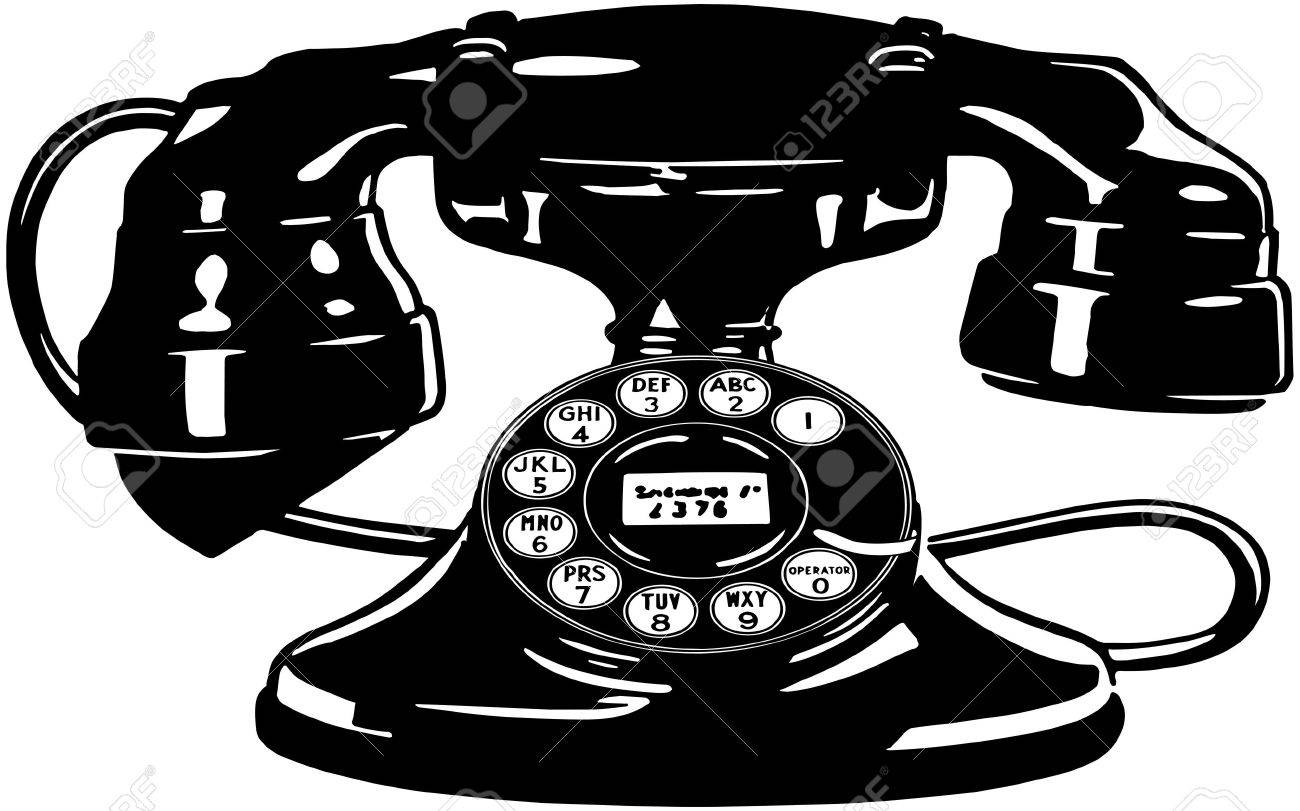 retro phone wiring diagram database Retro Office retro telephone 4 royalty free cliparts vectors and stock retro phone call retro phone