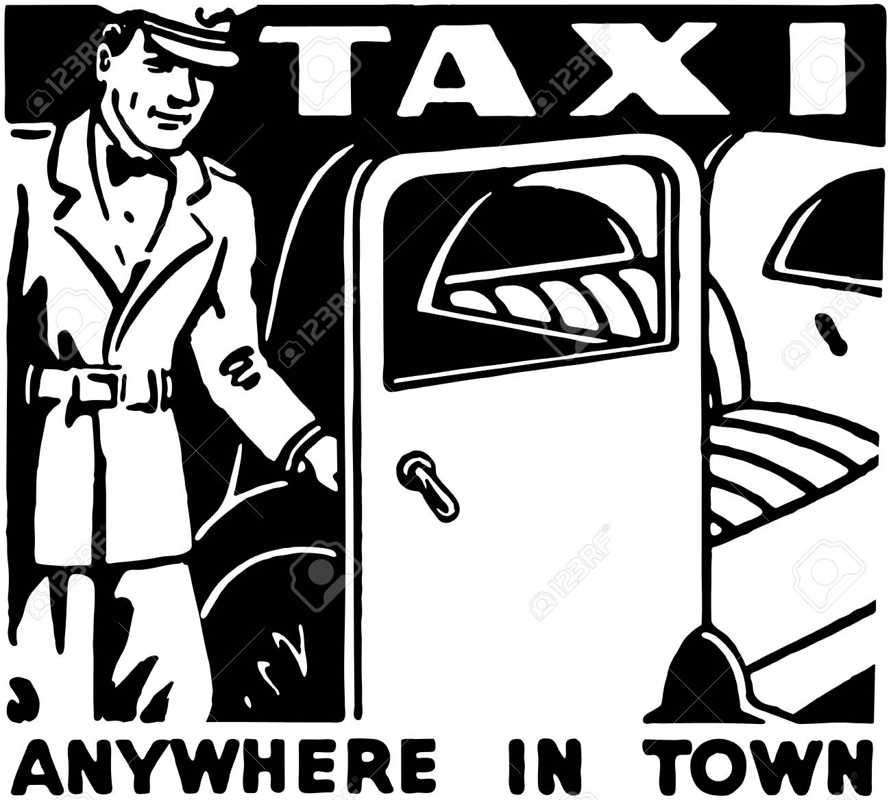 Taxi Anywhere In Town - 28346120