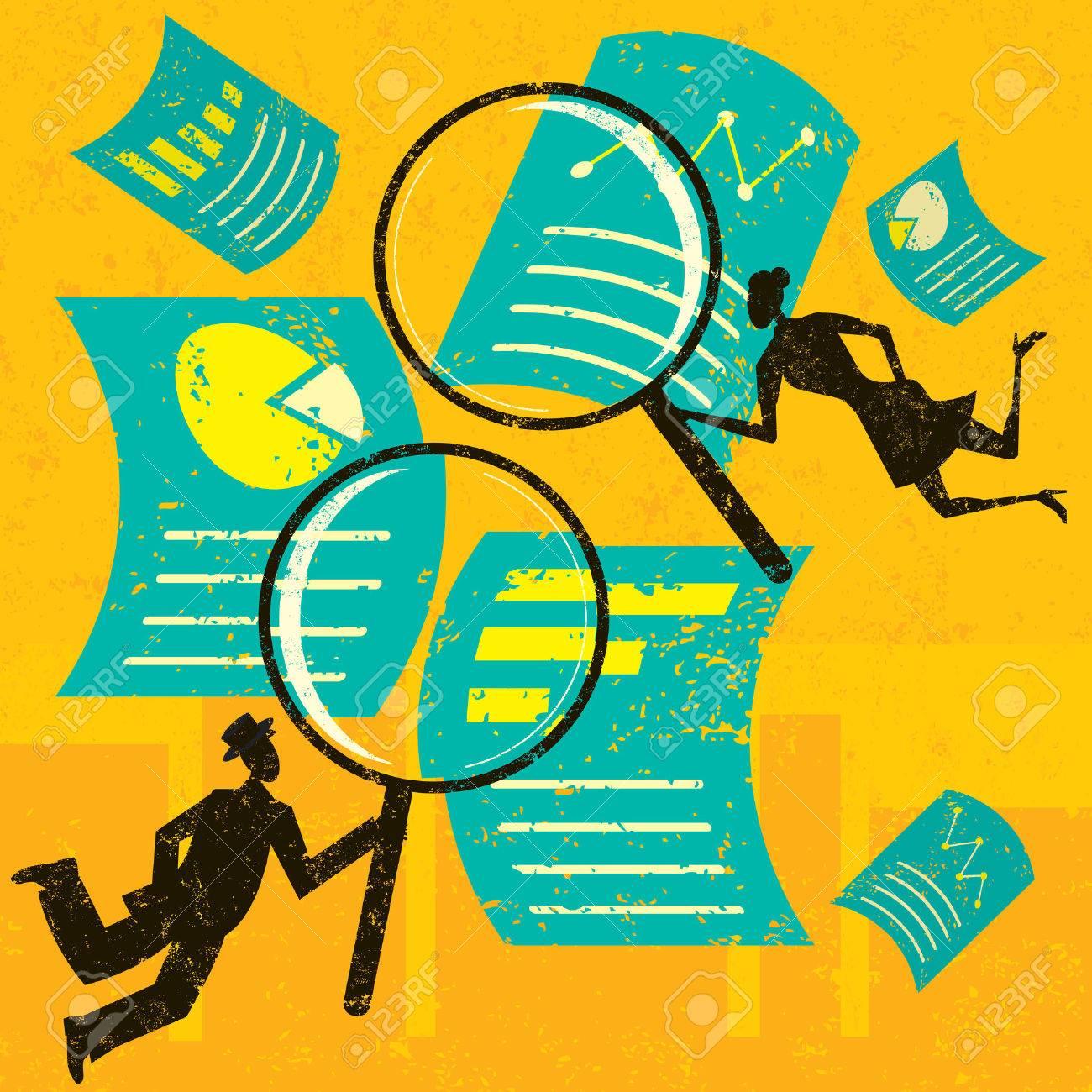 Examining Financial Documents - 41296414