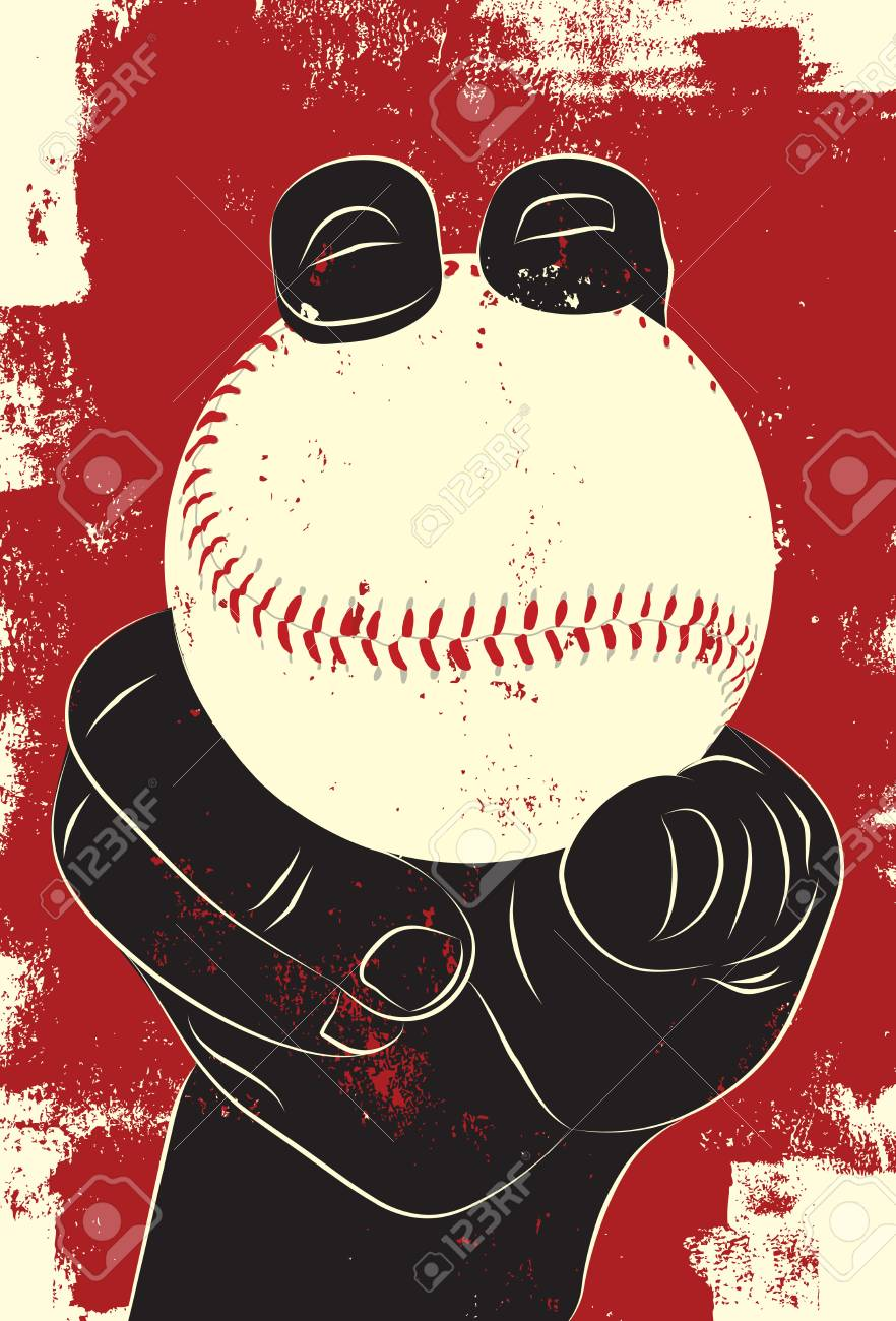 Baseball in hand - 45575928