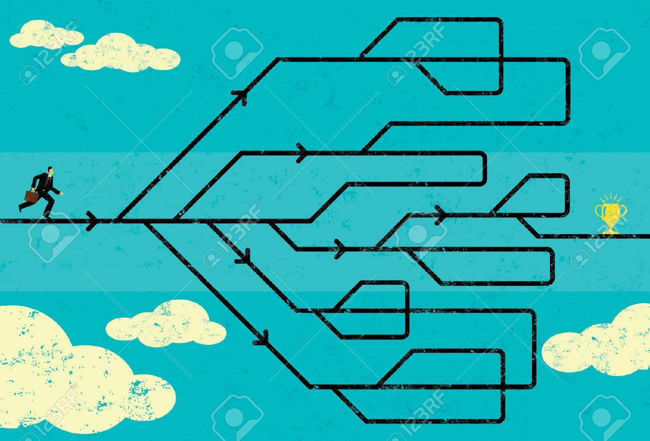 Career Path 免版稅剪貼畫,向量插圖和股票. Image 45948434.