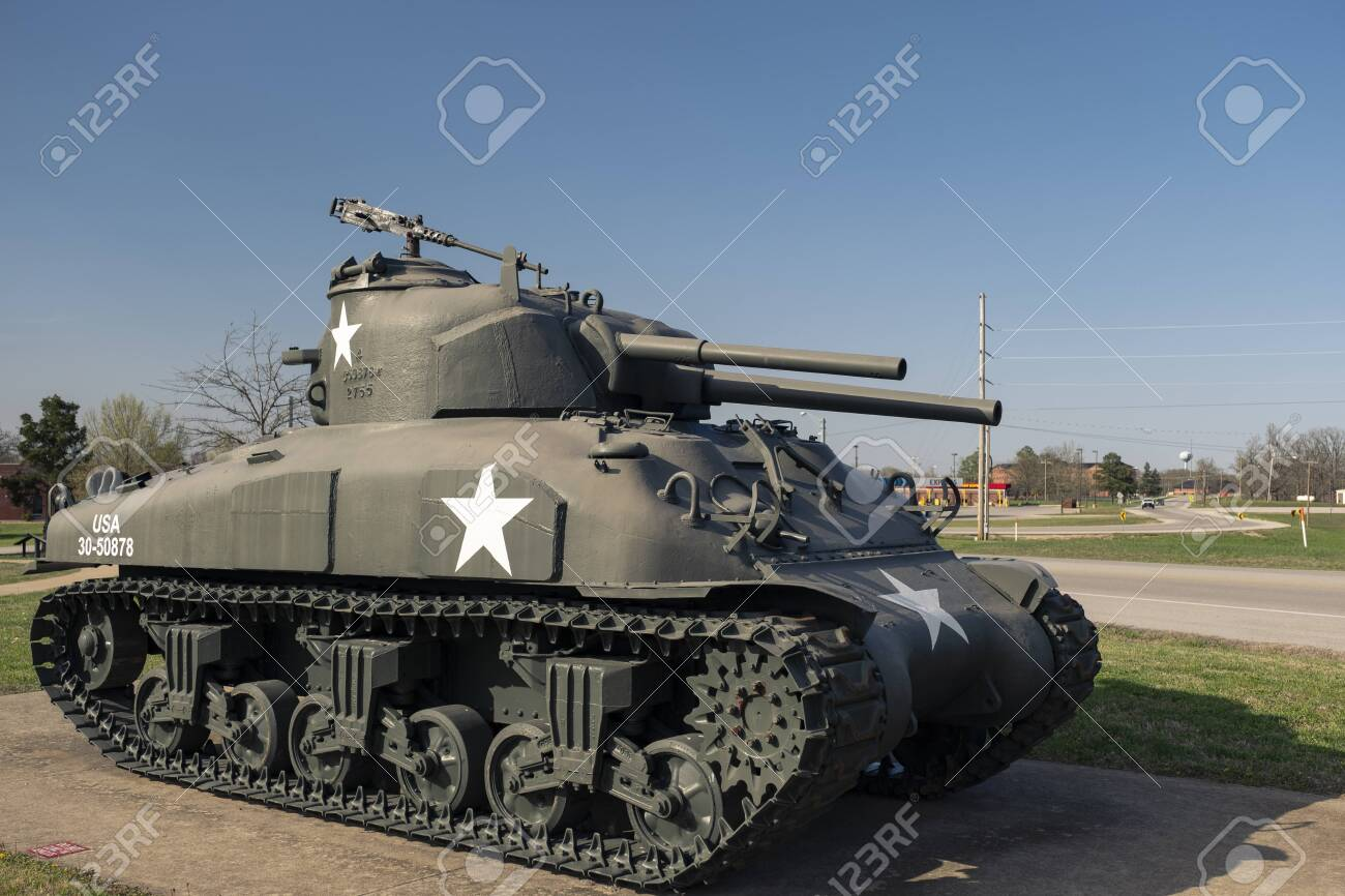 Used Military Vehicles >> General Sherman Medium Tank M4a3e8 An Outdoor Military Vehicle